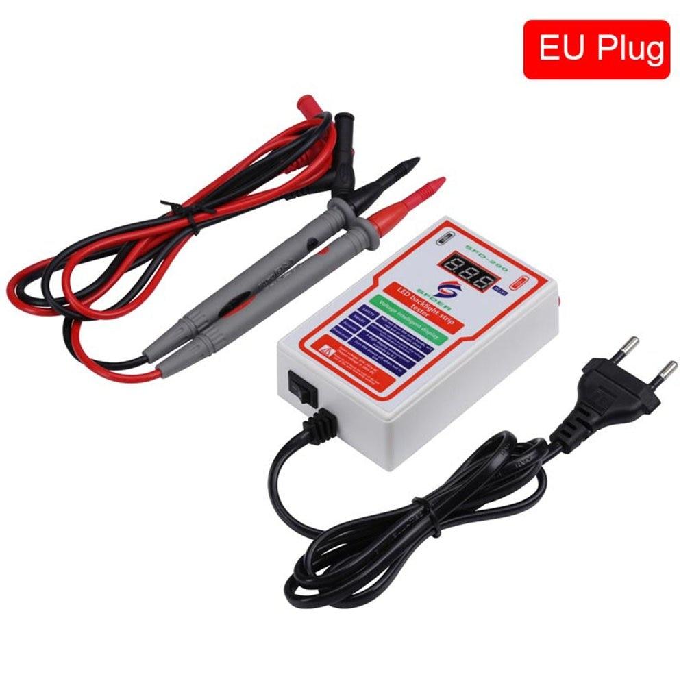 0-300V Output LED Tester LED TV Backlight Tester Multi-Function LED Strip Bead Test Tool Detector Repair Tools