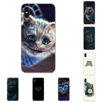 Alicia en el país de las maravillas de gato de Cheshire diseño para Huawei Honor 5C 5X 6A 6X 7 7A 7X 8 8A 8S 8X 9 10 30 Lite Pro Y6 II Y7 Y9 primer 2019