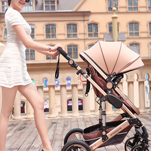 Baby Stroller Light-Weight Folding Russia Four-Seasons Wisesonle Or Child 2-In-1 Dampening