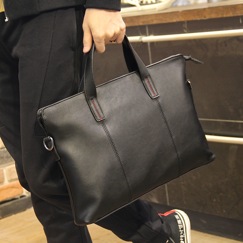 Tidog New Handbag Men's Fashion Casual Business Briefcase