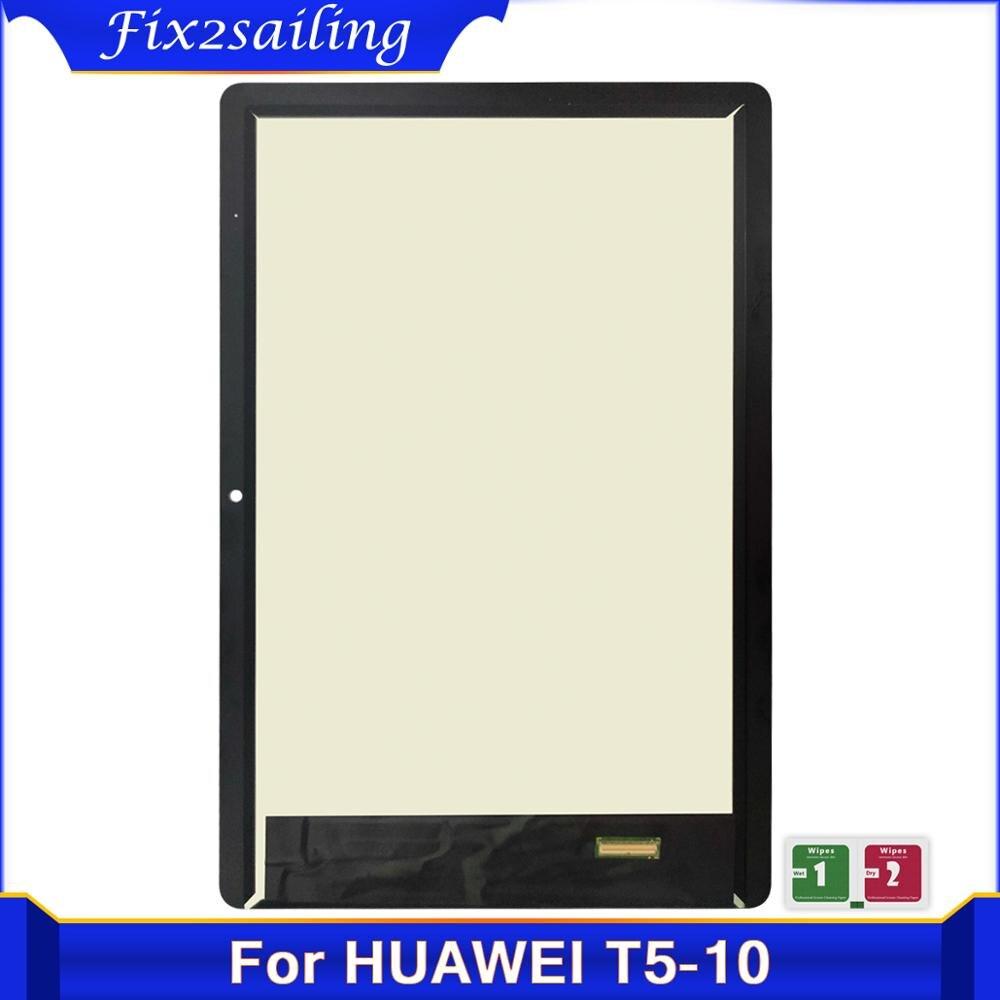 ЖК-дисплей 10,1 дюйма и сенсорная панель для Huawei MediaPad T5 10 AGS2-L09 AGS2-W09 AGS2-L03 AGS2-W19 экран в сборе с цифровым преобразователем