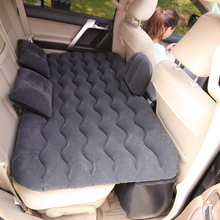 Car Inflatable Mattress Universal for Car Rear Back Seat Multi Functional Sofa Pillow Outdoor Camp Cushion Car Travel Bed