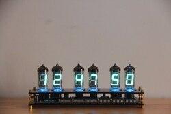 Kreatywny prezent IV11 świetlówka zegar VFD DIY Kit prezent dla chłopaka nie Glow Tube|Części do narzędzi|   -