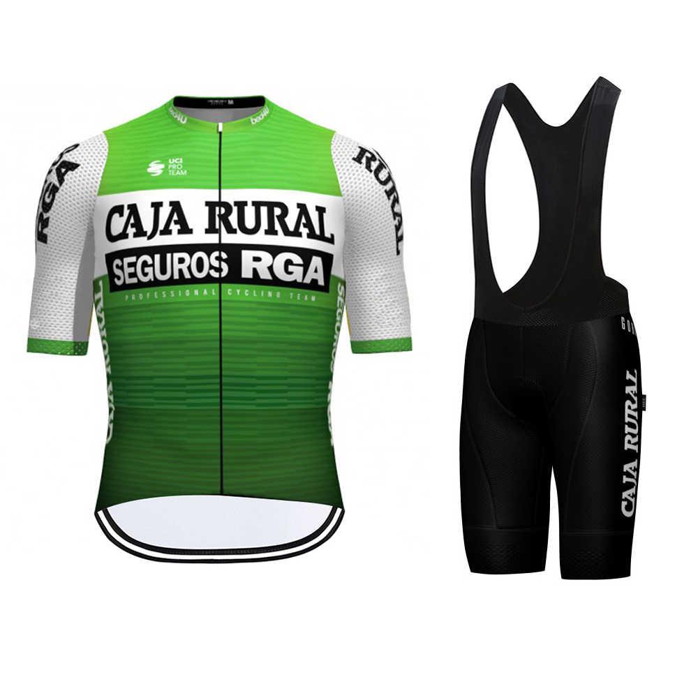 """/""""NEW/""""  TEAM 2020 Cycling CAJA RURAL SEGUROS RGA Summer Set 9d Gel Pad"""