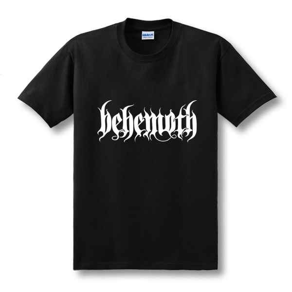 New Hip Hop DEATH HEAVY METAL PUNK Band Behemoth Eagle T shirts Men Casual Short sleeved T Shirts New Tops Tees Novelty Tshirts in T Shirts from Men 39 s Clothing