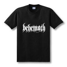 New Hip Hop DEATH HEAVY METAL PUNK Band Behemoth Eagle T-shirts Men Casual Short-sleeved T Shirts Tops Tees Novelty Tshirts