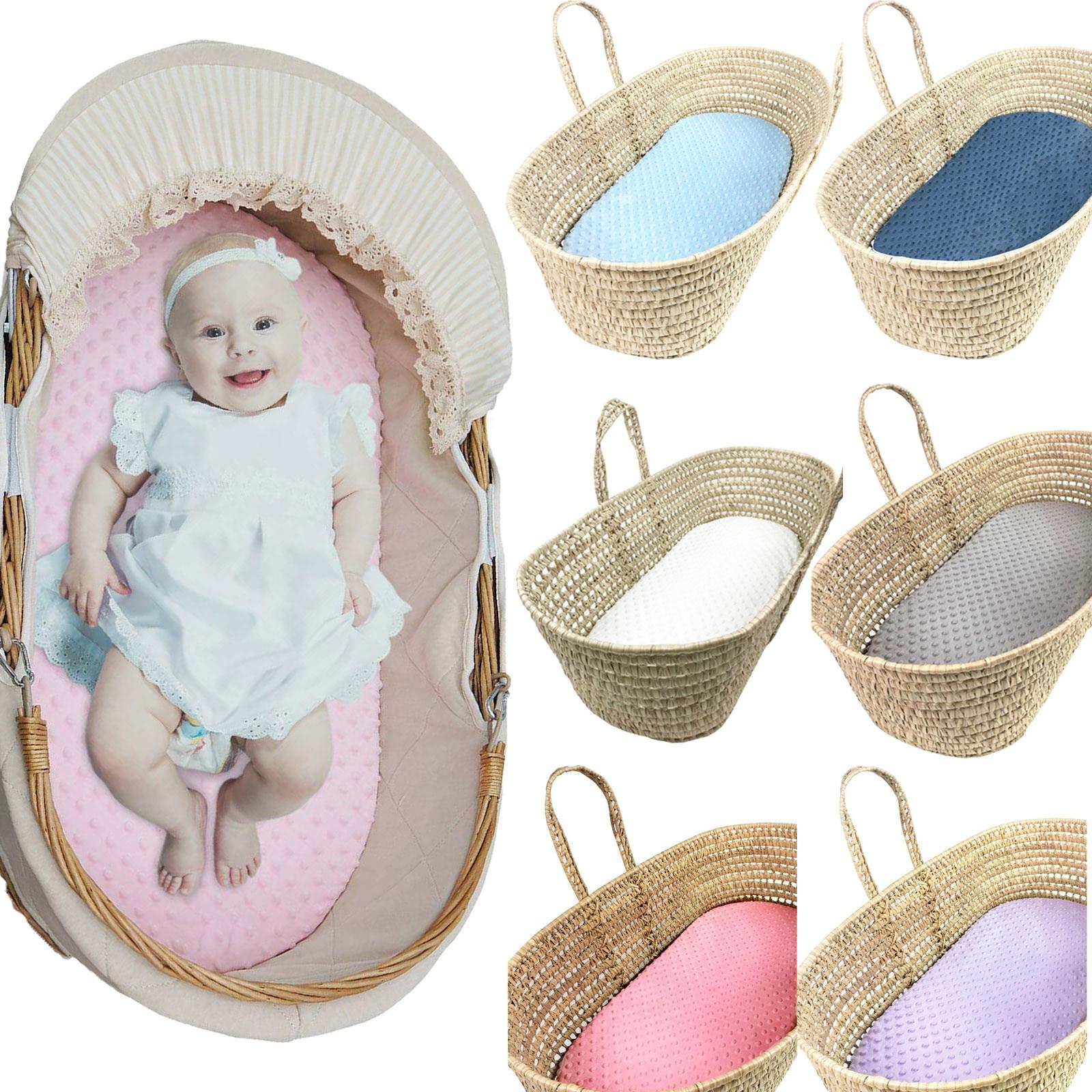 Infants Boys Girls Cradle beds Baby Moses Basket Super Soft Bubble Bed Baby Crib Care Pad Covers Fitted Sheet для новорожденных