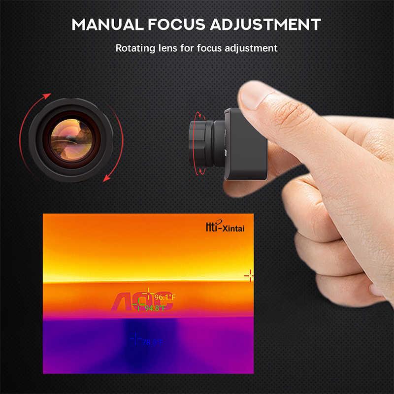 Тепловизор Инфракрасный USB HT-301 тепловизор мобильное инфракрасное камера совершенно новое качество Android C мобильное инфракрасное камера