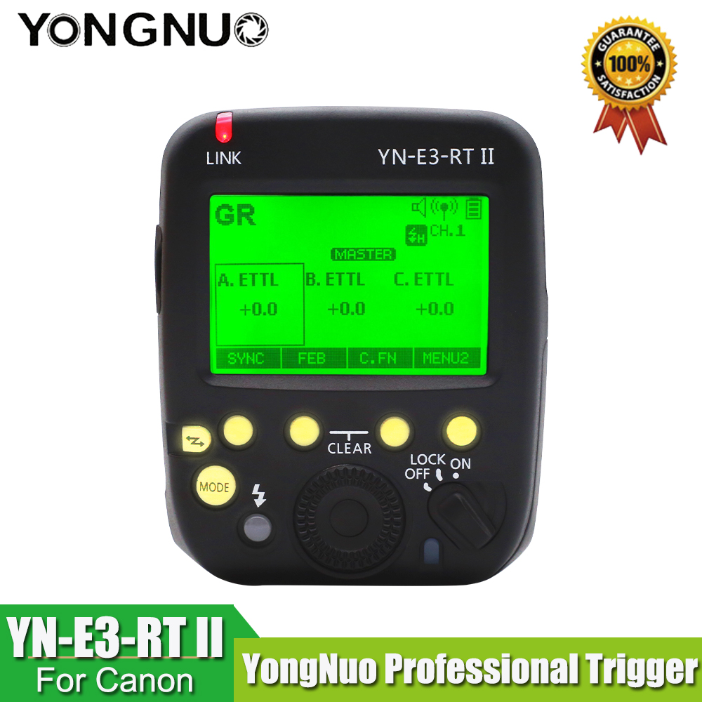 YONGNUO R3RT YN-E3-RT II TTL Gatilho de Rádio Transmissor Speedlite como ST-E3-RT para Canon 600EX-RT, YONGNUO YN600EX-RT