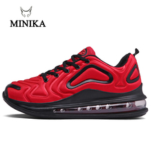 Hot Red Sneakers Men Women Sport Shoes Mens Running Shoes Air Damping 720 Outdoor Jogging Shoe Cushion Calzado Deportivo Hombre
