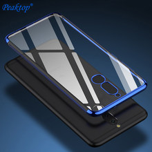 Capa de silicone para huawei mate 20 lite, capa transparente e macia para celulares huawei mate 20 lite coque do telefone 20pro 20x