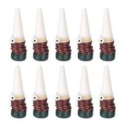 Podlewanie Stakes 10 Pack Indoor automatyczny System nawadniania kroplowego sprzęt do nawadniania narzędzie do podlewające ceramiczne sondy do roślin Housepl