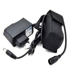 Высококачественный велосипедный светильник WasaFire, 4 аккумулятора 18650 8,4 В для SolarStorm X2 X3 U2 T6, лампа с зарядным устройством, аксессуар для велоси...