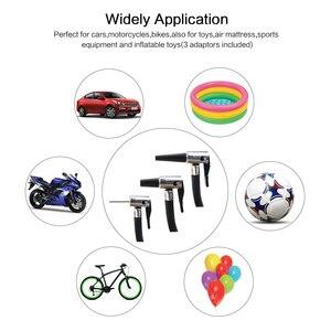 Image 5 - Fineed compresor de aire para coche, bomba de aire de 12v, Inflador de neumáticos de coche de 150PSI, 35L/Min, pantalla táctil automática con LED para automóvil