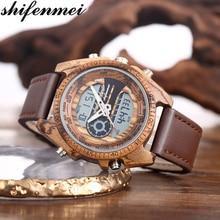 Shifenmei Wood Watch Top Luxury Brand Watches