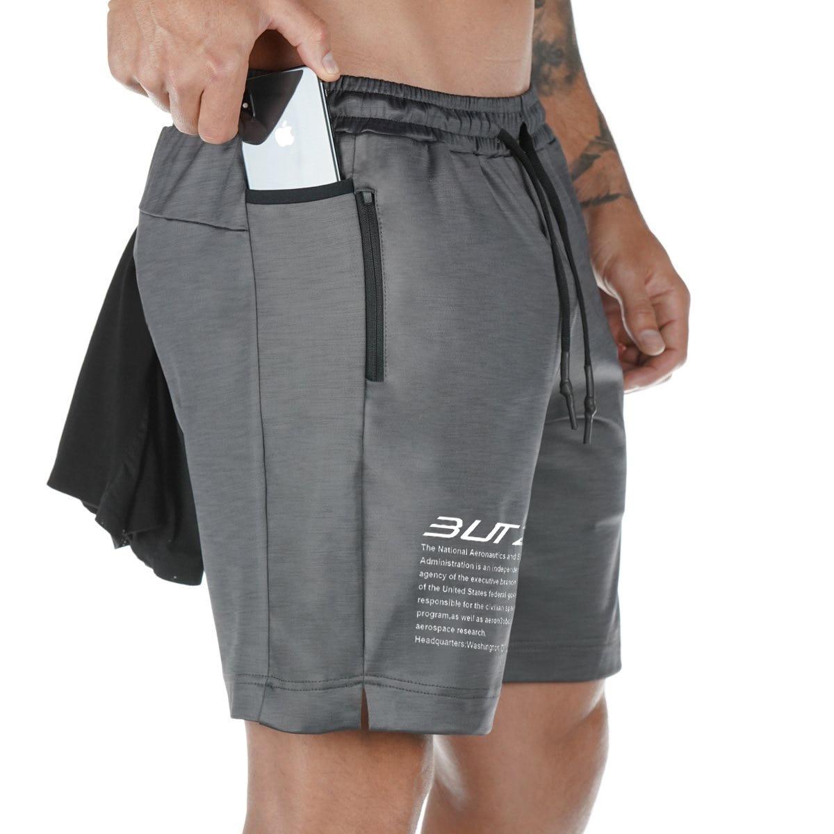 Мужские летние шорты для бега с принтом букв, эластичная талия, шорты для бега, тренажерного зала, фитнеса, быстросохнущие тренировочные повседневные шорты, мужские брюки, 2021|Шорты|   | АлиЭкспресс