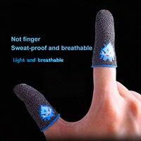 2 pezzi punta delle dita per PUBG giochi PS5/4 premere Touch Screen sensibile tocco gioco dito guanto manica accessori da gioco traspiranti