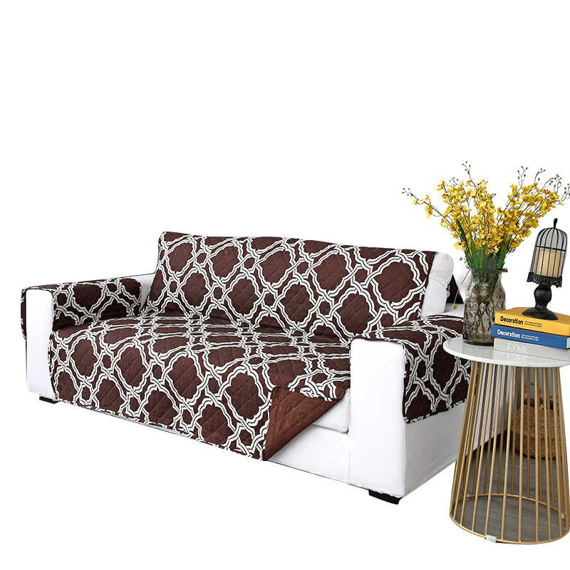New Sectional One Piece Sofa Cover For