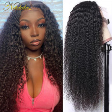 Nadula Curly Human Hair Wigs 13x4 Lace Front Human Hair Wigs 5x5 HD Lace Wig Remy Hair Lace Front Wig Pre plucked with Baby Hair