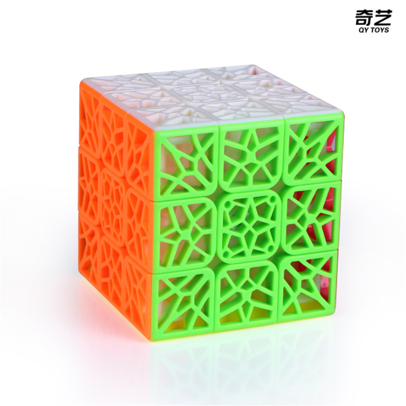Newest QiYi DNA Concave 3x3x3 Stickerless Speed Magic Cube DNA Plane Cubo Magico  Speed Puzzle Cubes Toys For Children Kids