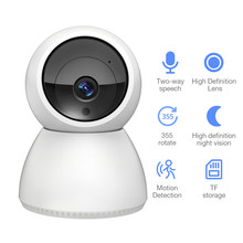 FEISDA 1080P Wireless Wifi Camera HD Home Surveillance Security PTZ CCTV Camera Two Way Audio P2P Baby Monitor Pet Camera