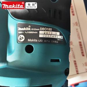 Image 2 - MAKITA DBO180Z LXT 18V DBO180 125MM RANDOM ORBIT SANDER BODY ONLY