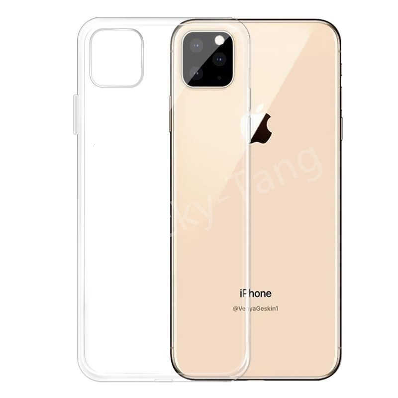 Clear Case For iPhone 11 pro max 2019 Transparent TPU Soft Case For Apple iPhone 5 6 6S 7 8 plus XR X XS Max Phone Case Cover