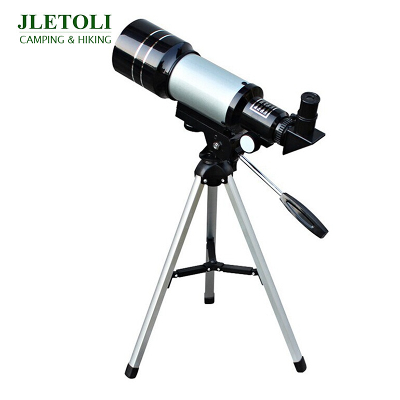 Telescope Level Telescope JLETOLI 150X Monocular Astronomic Vision Night Beginner Observable Professional With Tripod Moon