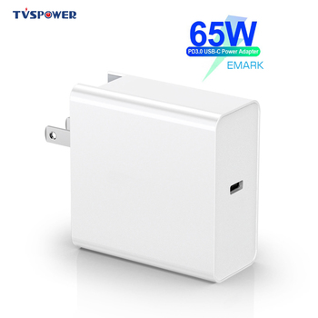 65W 20V 3.25A USB Type C PD 45W Fast Charger QC 3.0 Power Laptop Adapter for Macbook Pro/Asus/lenovo thinkpad/HP/DELL XPS/Xiaomi max 100w usb c pd charger with 60w pd for dell xps 12 dell xps 13 9350 dell xps 15 9550d latitude 12 7275 13 7370d chargers