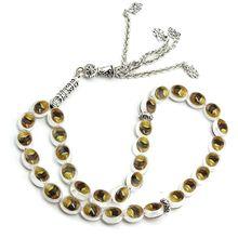 Hot  33 Prayer Beads Muslim Islam Worship Rosary Allah Muhammad Tasbih Beaded Chain