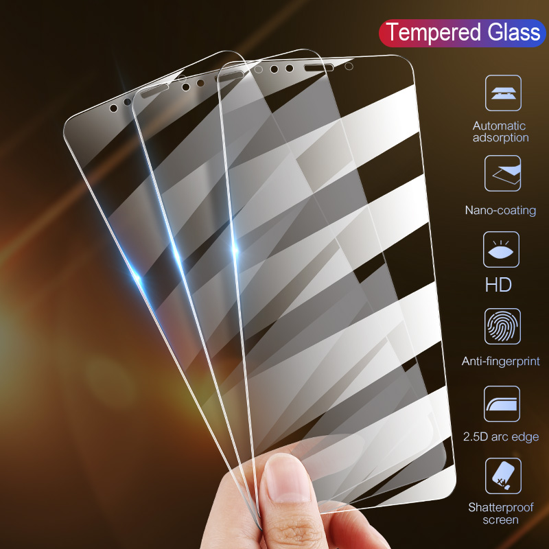 Full Cover Glass on the For iPhone 7 8 6 6s Plus Tempered Glass For iPhone X XS Max XR 5 5S SE 11 Pro Max Screen Protector title=
