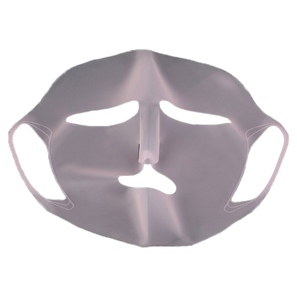 Moisturizing Face Mask Reusable Silicone Cover Practical Washable Prevent Steam Unisex Waterproof Evaporation Soft Gift Sheet