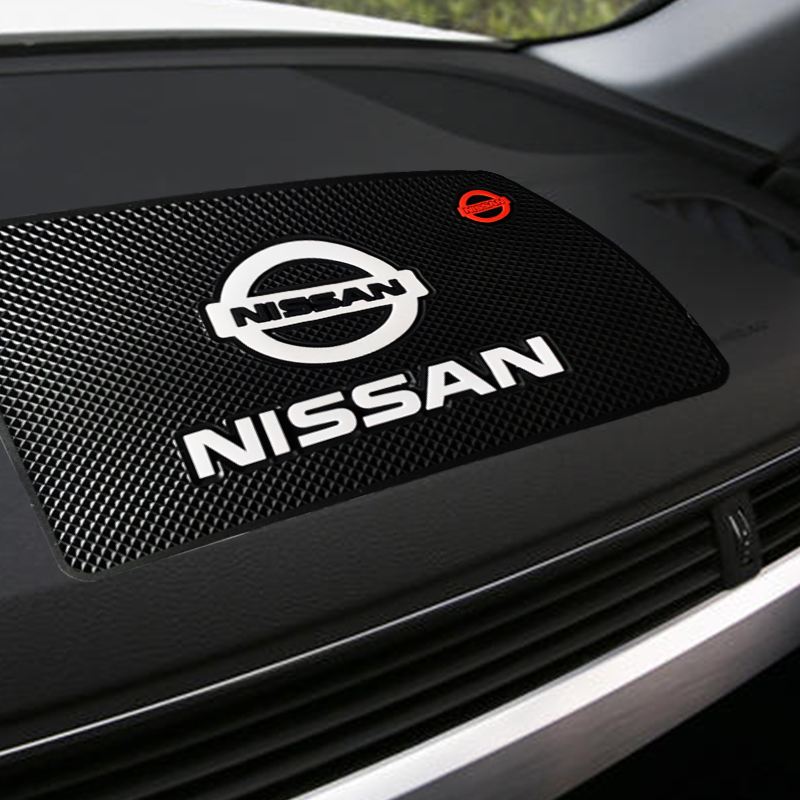 1pcs Car Anti-slip Pad Non-slip Mat Car Interior Accessories for Nissans Nismo X-trail Almera Qashqai Tiida Teana Car Goods