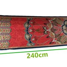 Мягкий тонкий Спиннинг Ширина шелковой ткани: 112 см, толщина: 3-4 мм, цвет: как на картинке, длина: 240 см