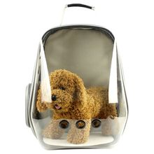 Pet Carrier Cat Small Dog backpack Breathable Astronaut Space Capsule Bubble Backpack F42A