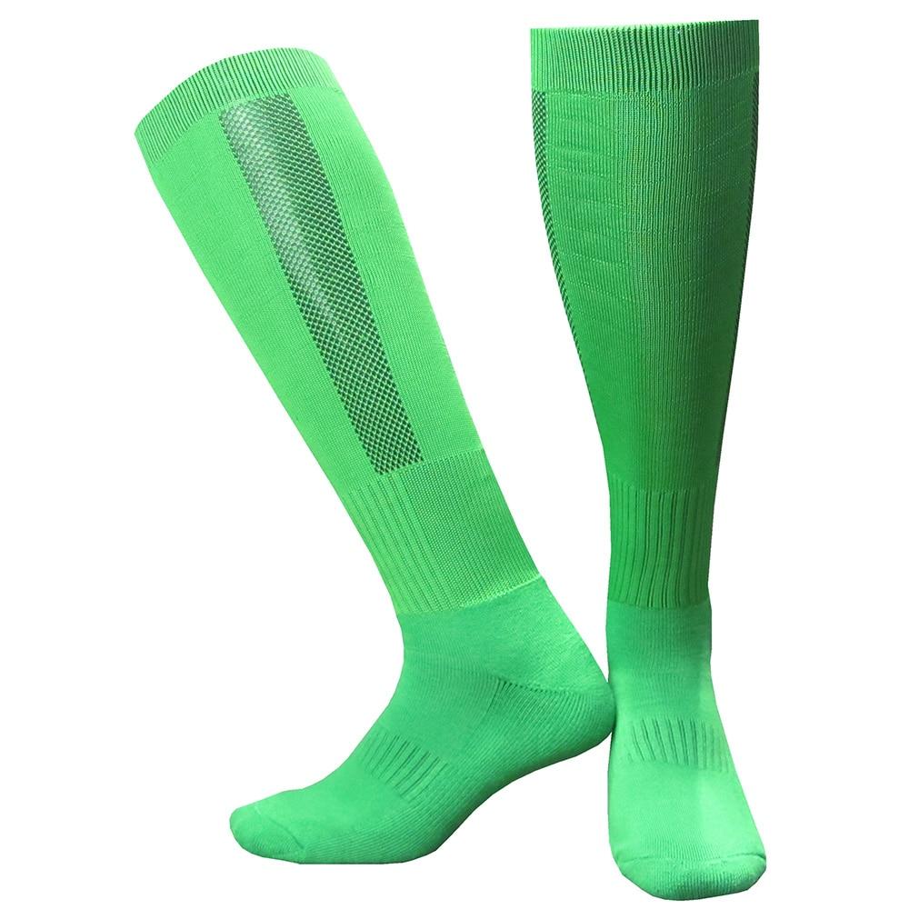 CTM005绿色毛巾底足球袜 副本
