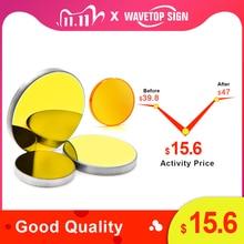 WaveTopSign Focus Lens Dia.12/18mm Focal Length 50.8mm 1Pcs + MO Mirror 20x3mm 3Pcs for 3020 K40 Co2 Laser Engraving Machine