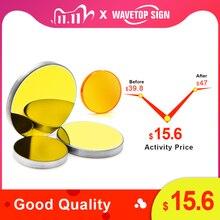 WaveTopSign lente de enfoque diámetro 12/18mm, distancia Focal 50,8mm, 1 Uds. + espejo MO 20x3mm, 3 uds. Para máquina de grabado láser 3020 K40 Co2