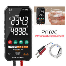 Digital Multimeter 6000 Counts True RMS AC/DC Voltage Resistance Capacitance Frequency Continuity Diode NCV Test LCD Temperature