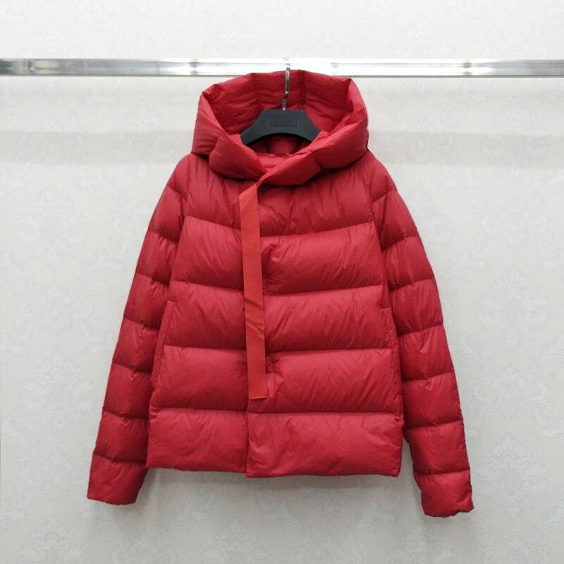 Down Duck 2020 Jacket Woman Short Winter Coat Women Korean Hooded Warm Jacket Parka Chaqueta Mujer Nn1709 YY1214