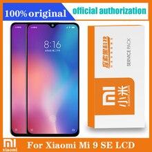 "100% Original 5.97 ""AmoledจอแสดงผลกรอบสำหรับXiaomi MI 9 SE Mi9 SE LCD Touch Screen Digitizer AssemblyสำหรับMI 9SEจอแสดงผล"