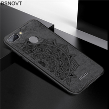 For Xiaomi Redmi 6 Case Frame Cloth Fabric Flower Bumper Anti-knock Phone Case For Xiaomi Redmi 6 Cover For Redmi 6 Case BSNOVT цена и фото
