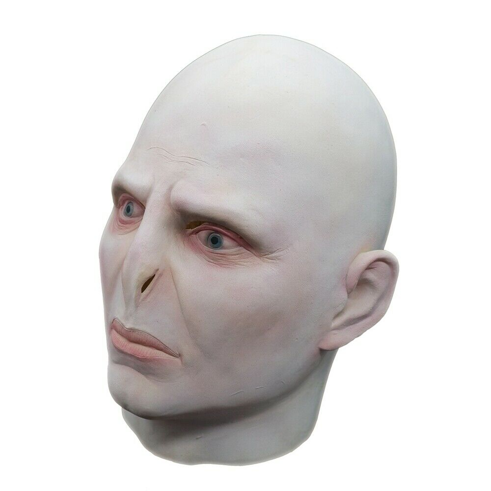 Lord Voldemort Mask Cosplay Masque Boss Latex Horrible Scary Masks Terrorizer Halloween Carnival Mask Costume Props Men