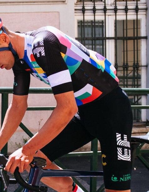 2021 EF EDUCATION FIRST PRO TEAM ITALIA Велоспорт Джерси с коротким рукавом летняя одежда для велоспорта ROPA CICLISMO + шорты с поясом