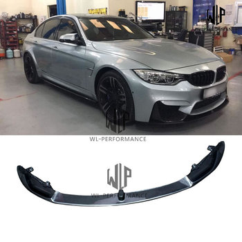 F82 M4 High Quality Carbon Fiber Front Lip Splitter Car Styling for BMW 4 Series F82 M4 420i 428i 435i 2014-UP image