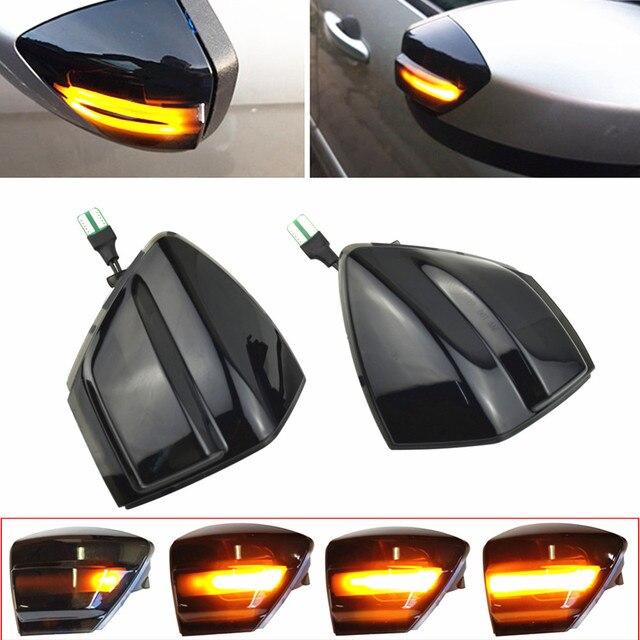 Araba dinamik dönüş sinyal ışığı Ford s max 07 14 Kuga C394 08 12 c max 11 19 LED ayna tekrarlayıcı sıralı göstergesi flaşör