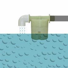 Автоматический клапан регулирования уровня воды 1/2 дюйма, водяной поплавковый клапан резервуара, садовый резервуар для орошения