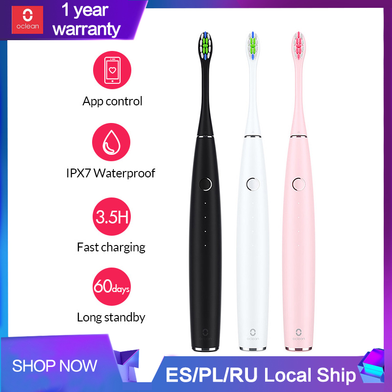 Xiaomi Mijia Oclean One Sonic Electric Toothbrush Adult Waterproof Ultrasonic Automatic Fast Charging Tooth Brush Fast Charging