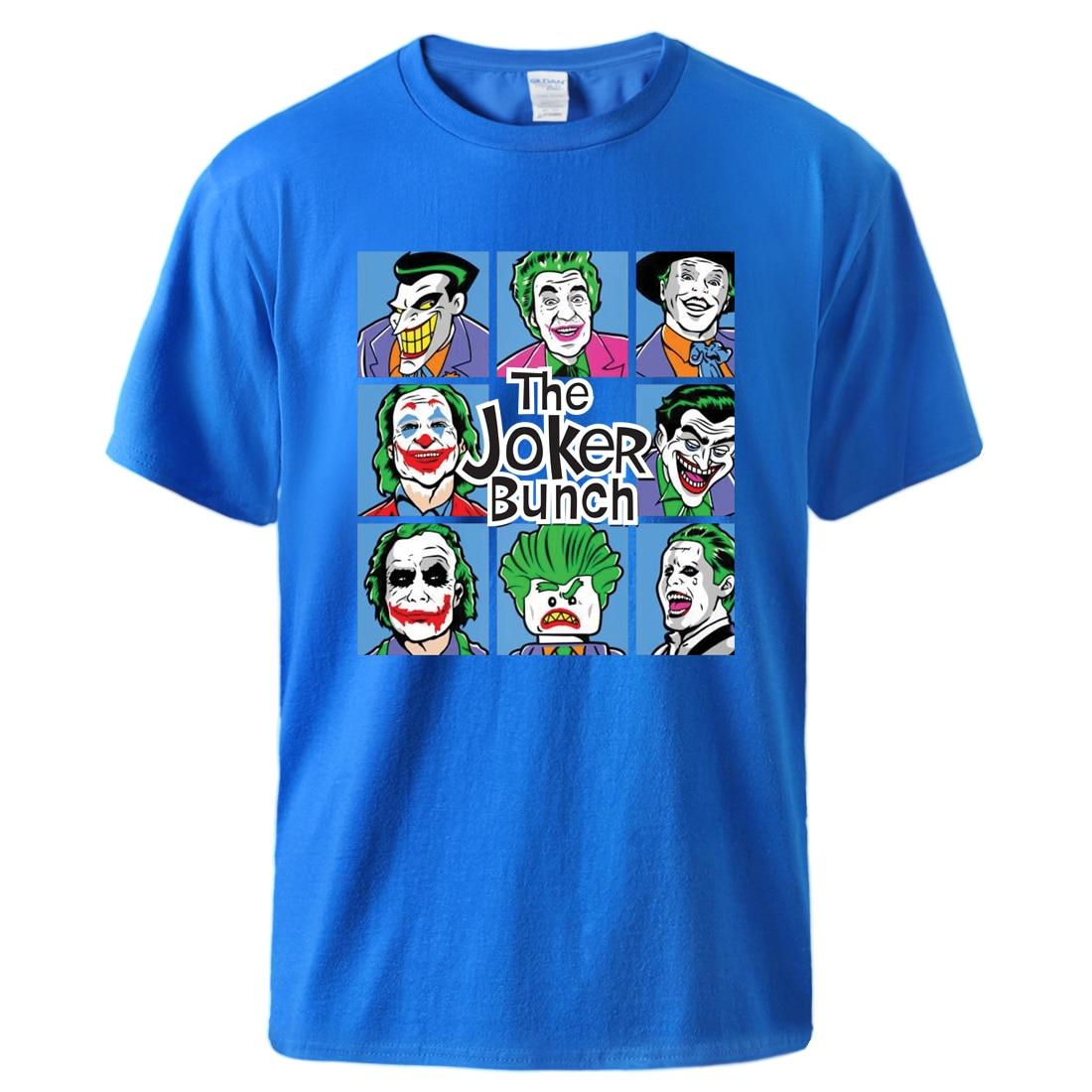 Funny The Joker Bunch T Shirt Man Causal Top Tee 2020 Man High Qaulity 100% Cotton Sportswear Tshirt Man Short Sleeve Casual Top