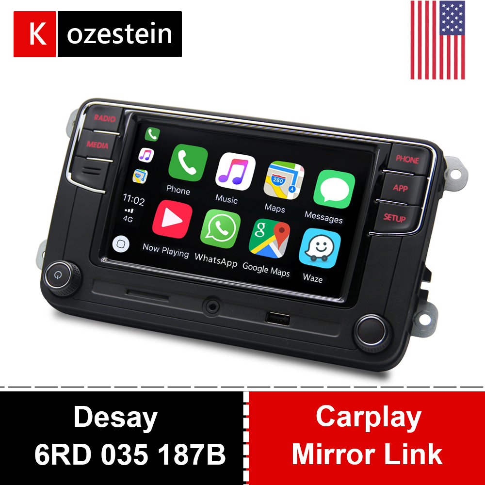 Car-Radio Mirror-Link Vw Polo Desay Rcd330 Carplay MK6 Tiguan Passat 187B Golf Plus 6RD title=